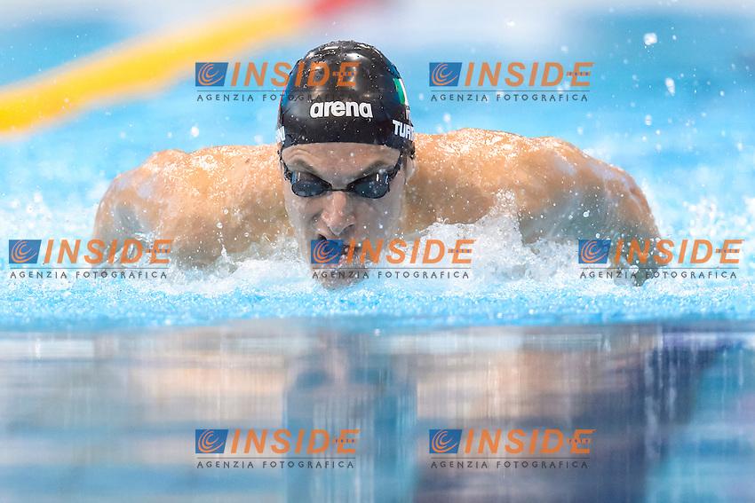 Federico TURRINI ITA <br /> 200m Medley Men preliminary <br /> London, Queen Elizabeth II Olympic Park Pool <br /> LEN 2016 European Aquatics Elite Championships <br /> Swimming<br /> Day 09 17-05-2016<br /> Photo Andrea Staccioli/Deepbluemedia/Insidefoto
