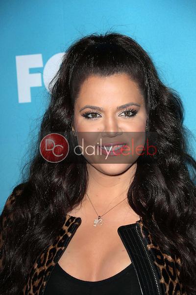 "Khloe Kardashian<br /> at the ""The X Factor"" Season Finale News Conference, CBS Televison City, Los Angeles, CA 12-17-12<br /> David Edwards/DailyCeleb.com 818-249-4998"