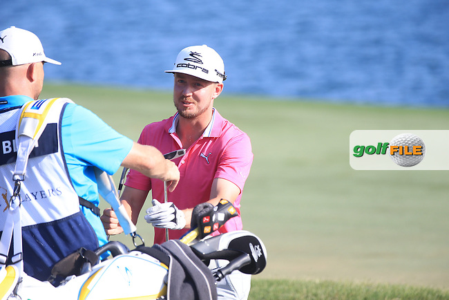 Jonas Blixt  (SWE) during the Final round of The Players 2016 , TPC Sawgrass, Ponte Vedra Beach, Jacksonville.   Florida, USA. 15/05/2016.<br /> Picture: Golffile | Mark Davison<br /> <br /> <br /> All photo usage must carry mandatory copyright credit (&copy; Golffile | Mark Davison)