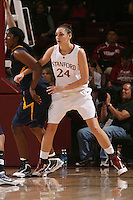 STANFORD, CA - JANUARY 2:  Ashley Cimino of the Stanford Cardinal during Stanford's 79-58 win over the California Golden Bears on January 2, 2010 at Maples Pavilion in Stanford, California.