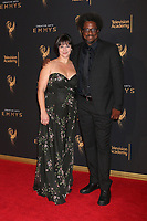 LOS ANGELES - SEP 9:  Melissa Bell, W. Kamau Bell at the 2017 Creative Emmy Awards at the Microsoft Theater on September 9, 2017 in Los Angeles, CA