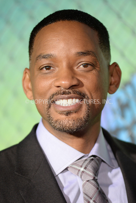 www.acepixs.com<br /> August 1, 2016  New York City<br /> <br /> Will Smith attending the world premiere of Warner Bros. Pictures and Atlas Entertainment&rsquo;s 'Suicide Squad' at the Beacon Theatre on August 1, 2016 in New York City.<br /> <br /> <br /> Credit: Kristin Callahan/ACE Pictures<br /> <br /> <br /> Tel: 646 769 0430<br /> Email: info@acepixs.com