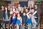 HAVING FUN: Ann Hennessy(seated 2nd from the Lt)from Abbeydorney celebrated her 21st birthday last Saturday night in the Abbey-Inn Tralee with a big gang of friends.