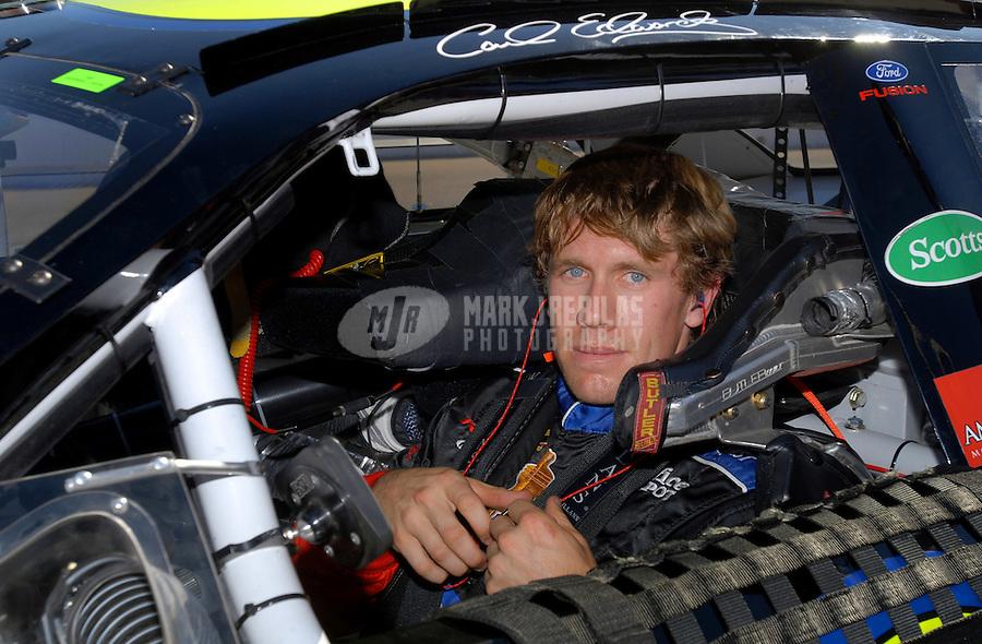 Sept. 2, 2006; Fontana, CA, USA; Nascar Busch Series driver Carl Edwards (60) during the Ameriquest 300 at California Speedway. Mandatory Credit: Mark J. Rebilas