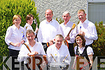 An Iola?ir band that played in the Grupa Cheoil at the Killarney Fleadh Cheoil in St Bridgid's school on Sunday Kevin Tarrent, Pattie Brosnan, Majella Dineen. Back row: Fiona O'Brien, Catherine O'Doherty, Colm O'Sullivan, Gene Doherty and John Wall   Copyright Kerry's Eye 2008