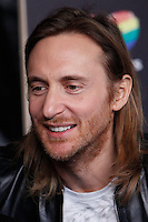 David Guetta attends 40 Principales awards photocall  2012 at Palacio de los Deportes in Madrid, Spain. January 24, 2013. (ALTERPHOTOS/Caro Marin) /NortePhoto