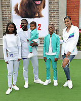 """LOS ANGELES - JUN 2:  Eniko Parrish, Heaven Hart, Hendrix Hart, Kenzo Hart, Kevin Hart at the """"The Secret Life of Pets 2"""" Premiere at the Village Theater on June 2, 2019 in Westwood, CA"""