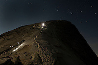 Half Dome Hike at Night