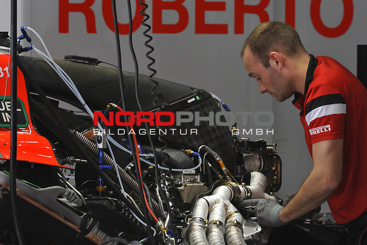 07.05 - 09.05.2015, Circuit de Catalunya, Barcelona, ESP, Formel 1, 2015,  im Bild  Manor - Ferrari engine<br />  Foto &copy; nph / Mathis