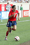 6 June 2004: Julie Foudy during the second half. The United States tied Japan 1-1 at Papa John's Cardinal Stadium in Louisville, KY in an international friendly soccer game..