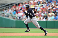 New York Yankees third baseman Alex Rodriguez (13) during a Spring Training game against the Philadelphia Phillies on March 27, 2015 at Bright House Field in Clearwater, Florida.  New York defeated Philadelphia 10-0.  (Mike Janes/Four Seam Images)