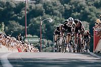 Michael Matthews (AUS/Sunweb) sprinting to victory<br /> <br /> 104th Tour de France 2017<br /> Stage 14 - Blagnac › Rodez (181km)