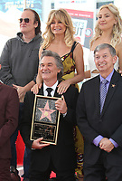 HOLLYWOOD, CA - MAY 04: Quentin Tarantion, Kurt Russell, Goldie Hawn and Kate Hudson pictured at the ceremony honoring Goldie Hawn and Kurt Russell with a double star ceremony on The Hollywood Walk of Fame on May 4, 2017 in Hollywood, California. Credit: Faye Sadou/MediaPunch