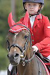 Class 1. Unaffiliated Showjumping. Brook Farm Training Centre. Essex. 10/06/2018. ~ MANDATORY Credit Garry Bowden/Sportinpictures - NO UNAUTHORISED USE - 07837 394578