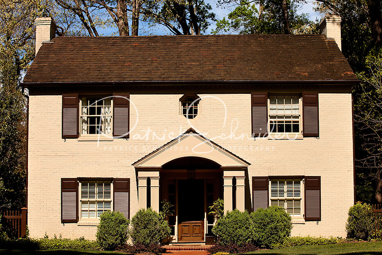 Part of a photography collection showing the variety of architectural styles of homes, apartments and condos in metropolitan Charlotte, NC. Image taken in Eastover Neighborhood.