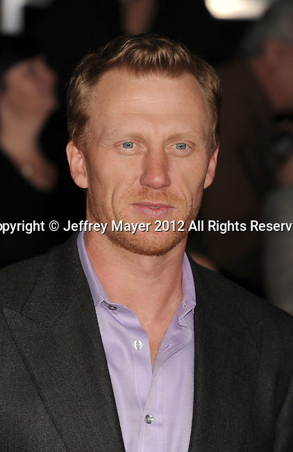 LOS ANGELES, CA - FEBRUARY 22: Kevin McKidd attends the 'John Carter' Los Angeles premiere held at the Regal Cinemas L.A. Live on February 22, 2012 in Los Angeles, California.