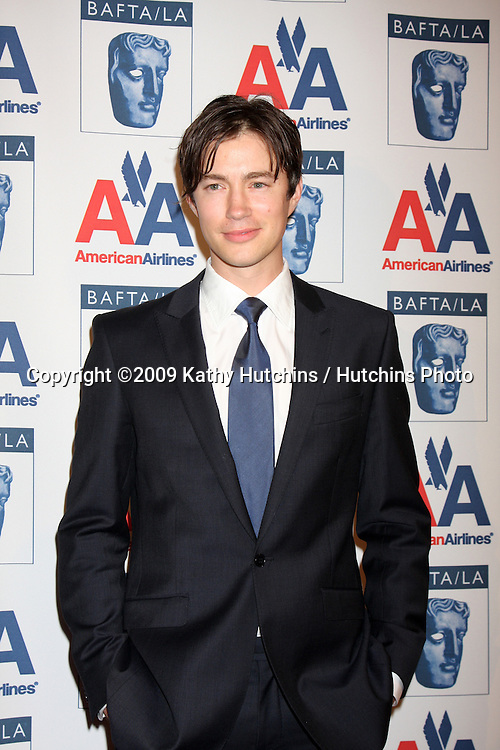 Tom Wisdom.arriving at The  2009 BAFTA BritanniaAwards.Century Plaza Hotel.Century City,  CA.November 5, 2009.©2009 Kathy Hutchins / Hutchins Photo.