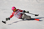 Takeshi Suzuki (JPN), <br /> MARCH 13, 2018 - Alpine Skiing : <br /> men's Super Combined  Sitting <br /> at Jeongseon Alpine Centre  <br /> during the PyeongChang 2018 Paralympics Winter Games in Pyeongchang, South Korea. <br /> (Photo by Sho Tamura/AFLO)