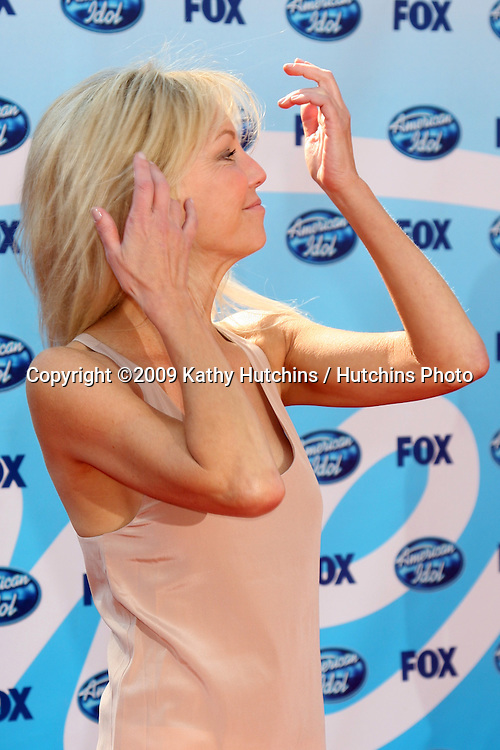 Heather Locklear arriving at the Amerian Idol Season 8 Finale at the Nokia Theater in  Los Angeles, CA on May 20, 2009 .©2009 Kathy Hutchins / Hutchins Photo..