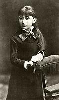 Rosa Luxemburg, age 12,circa 1883