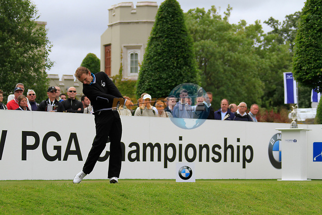 Joost Luiten (NED) tees off on the 1st tee to start his round on Day 2 of the BMW PGA Championship Championship at, Wentworth Club, Surrey, England, 27th May 2011. (Photo Eoin Clarke/Golffile 2011)