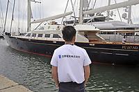 - Viareggio (Toscana), salone della nautica, la nave a vela Perini &quot;Principessa Vai Via&quot;, gi&agrave; appartenuta a Silvio Berlusconi<br /> <br /> - Viareggio (Tuscany), Versilia Yachting Rendez-vous; The sailing ship Perini &quot;Principessa Vai Via&quot;, already belonged to Silvio Berlusconi