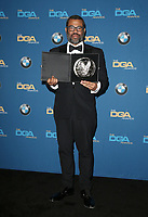 BEVERLY HILLS, CA - FEBRUARY 3: Jordan Peele in the press room at the 70th Annual DGA Awards at The Beverly Hilton Hotel in Beverly Hills, California on February 3, 2018. <br /> CAP/MPI/FS<br /> &copy;FS/MPI/Capital Pictures