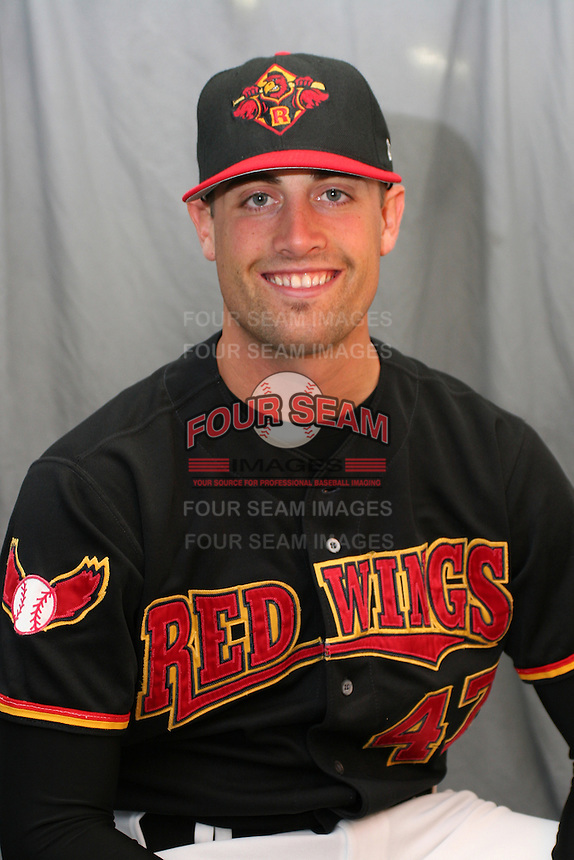Rochester Red Wings Pat Neshek during media day at Frontier Field on April 5, 2006 in Rochester, New York.  (Mike Janes/Four Seam Images)