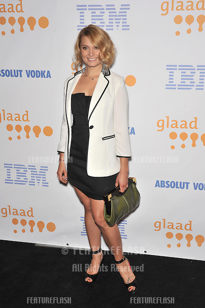 Spencer Grammer at the 20th Annual GLAAD Media Awards at the Nokia Theatre L.A. Live..April 18, 2009  Los Angeles, CA.Picture: Paul Smith / Featureflash