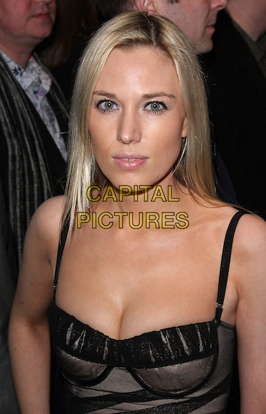 IMOGEN LLOYD WEBBER .Attending the Opening Night of 'Love Never Dies' at the Adelphi Theatre, The Strand, London, England, UK, .March 9th 2010..arrivals portrait headshot black cleavage bustier corset .CAP/ROS.©Steve Ross/Capital Pictures.