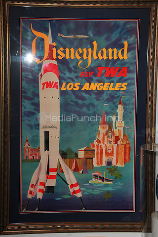 Disneyland Exhibition and Auction Presented by Van Eaton Galleries, a collection of historic props and artifacts from Disneyland's history going on auction Feb. 28  -Mar. 1 at Van Eaton Galleries in Sherman Oaks, California on February 25, 2015. Credit: David Edwards/DailyCeleb/MediaPunch