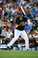 Pittsburgh Pirates third baseman Pedro Alvarez (24) during a Spring Training game against the Boston Red Sox on March 12, 2015 at McKechnie Field in Bradenton, Florida.  Boston defeated Pittsburgh 5-1.  (Mike Janes/Four Seam Images)