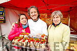 "Corinne Bonnin, Carlos Luque (Foodie Fiesta ""Paella and Tapas"") and Cathy Carey, pictured at the 'Food 4 Thought'  event, held at IT, Tralee North Campus, on Wednesday morning."