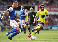 Blackburn Rovers' Bradley Dack in action during todays match<br /> <br /> Photographer Rachel Holborn/CameraSport<br /> <br /> The EFL Sky Bet Championship - Ipswich Town v Blackburn Rovers - Saturday 4th August 2018 - Portman Road - Ipswich<br /> <br /> World Copyright &copy; 2018 CameraSport. All rights reserved. 43 Linden Ave. Countesthorpe. Leicester. England. LE8 5PG - Tel: +44 (0) 116 277 4147 - admin@camerasport.com - www.camerasport.com
