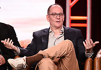 2020 FOX WINTER TCA: (L-R): 9-1-1: LONE STAR Co-Creator/Co-Executive Producer/Showrunner Tim Minear during the 9-1-1: LONE STAR panel at the 2020 FOX WINTER TCA at the Langham Hotel, Tuesday, Jan. 7 in Pasadena, CA. © 2020 Fox Media LLC. CR: Frank Micelotta/FOX/PictureGroup