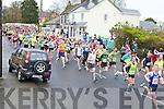 KINGDOM 10KM RUN: The start of the An Riocht Lee Strand Kingdom 10km & 5Km run/walk in Castleisland on Sunday.