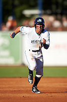 West Michigan Whitecaps shortstop Leonardo Laffita (29) running the bases during a game against the Burlington Bees on July 25, 2016 at Fifth Third Ballpark in Grand Rapids, Michigan.  West Michigan defeated Burlington 4-3.  (Mike Janes/Four Seam Images)