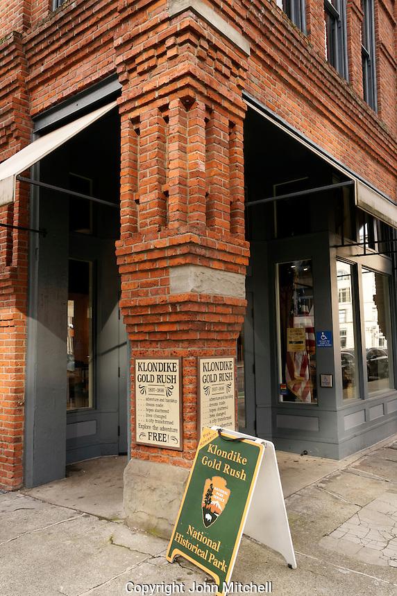 Klondike Gold Rush National Historical Park Visitor Center, Pioneer Square district, Seattle, Washington, USA