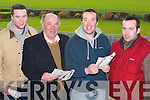 Dogs: Having a great day at the  Ballybeggan Park Coursing on Tuesday were Connor Carmody, Finbarr Carmody, Michael Carmody, and Steve Carmody all from Listowel..