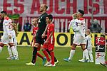 18.01.2020, Merkur Spielarena, Duesseldorf , GER, 1. FBL,  Fortuna Duesseldorf vs. SV Werder Bremen,<br />  <br /> DFL regulations prohibit any use of photographs as image sequences and/or quasi-video<br /> <br /> im Bild / picture shows: <br /> Auflauf der Mannschaft mit Einlaufkindern Kevin Voigt (Werder Bremen #3), <br /> <br /> Foto © nordphoto / Meuter