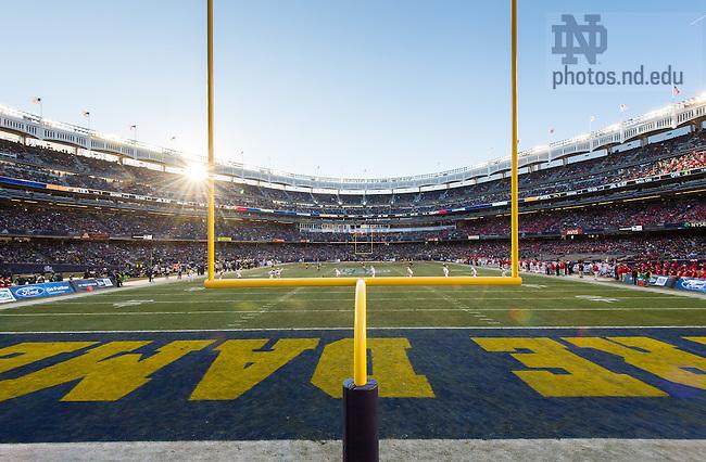 Dec. 28, 2013; 2013 Pinstripe Bowl in Yankee Stadium.<br /> <br /> Photo by Matt Cashore