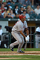 Juan Rivera, of the Los Angeles Angels, in aciton against the Chicago White Sox on August 7, 2006 in Chicago...Angels win 6-3..David Durochik / SportPics
