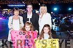 Breda Riordan, Ellie Mai Riordan, Ger Breen, Ann Riordan, Daisy Riordan, all from Tralee,