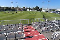 General view of the ground ahead of Essex CCC vs Warwickshire CCC, Specsavers County Championship Division 1 Cricket at The Cloudfm County Ground on 19th June 2017