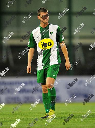 2010-09-11 / Voetbal / seizoen 2010-2011 / Racing Mechelen / Kevin Spreutels..Foto: Mpics