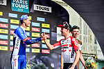 Jelle Wallays (BEL) Lotto-Soudal wins the 113th edition of Paris-Tours 2019, with Niki Terpstra (NED) Total Direct Energie 2nd and Oliver Naesen (BEL) AG2R La Mondiale 3rd, running 217km from Chartres to Tours, France. 13th October 2019.<br /> Picture: ASO/Gautier Demouveaux | Cyclefile<br /> All photos usage must carry mandatory copyright credit (© Cyclefile | ASO/Gautier Demouveaux)