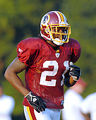 Ashburn, VA - August 1, 2007 -- Safety Sean Taylor (21) participates in the 2007 Washington Redskins training camp in Ashburn, Virginia on Wednesday, August 1, 2007..Credit: Ron Sachs / CNP