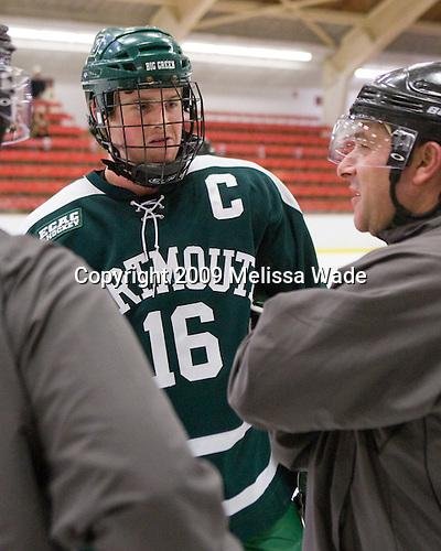 Peter Boldt (Dartmouth - 16), John Gravallese - The Dartmouth College Big Green defeated the Harvard University Crimson 6-2 on Sunday, November 29, 2009, at Bright Hockey Center in Cambridge, Massachusetts.