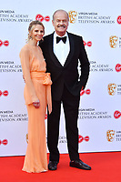 Kayte Walsh and Kelsey Grammer<br /> at Virgin Media British Academy Television Awards 2019 annual awards ceremony to celebrate the best of British TV, at Royal Festival Hall, London, England on May 12, 2019.<br /> CAP/JOR<br /> ©JOR/Capital Pictures