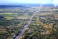 REPUBLICA DOMINICANA, RD, Carretera Bani Sancristobal. Diferentes vistas aerea de la zona sur del pais y de la capital  Santo Domingo..Lugar:Zona Sur, RD.Foto:Cesar de la Cruz.Fecha:.